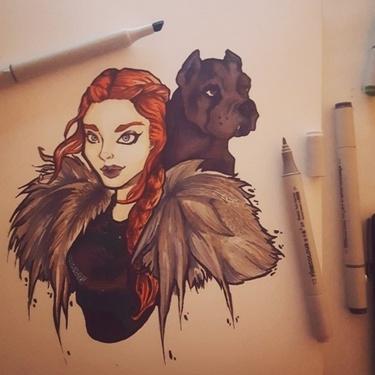 Sansa Stark Tattoo