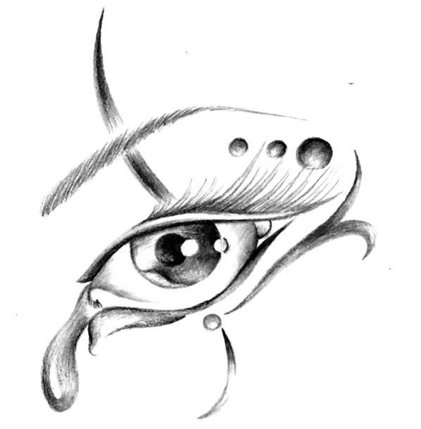 Awesome Eye Tattoo Design