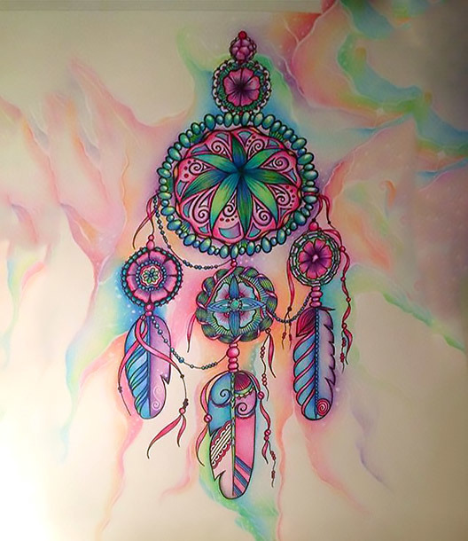 Best Dreamcatcher Tattoo for Girls Tattoo Design