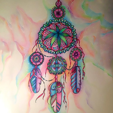 Best Dreamcatcher Tattoo for Girls Tattoo