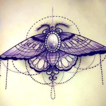 Best Moth Tattoo