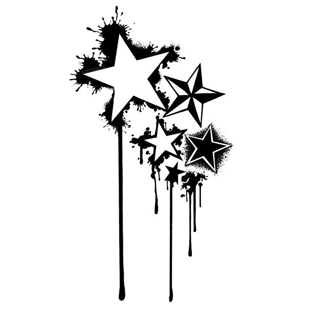 Simple Stars First Tattoo Idea Tattoo Design