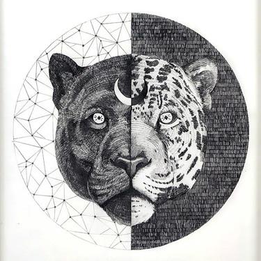 Yin Yang Jaguar Tattoo
