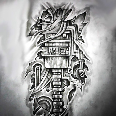 3D Biomechanical Tattoo