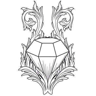 Awesome Diamond Tattoo