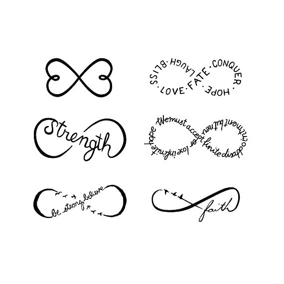Awesome Infinity Tattoo Design