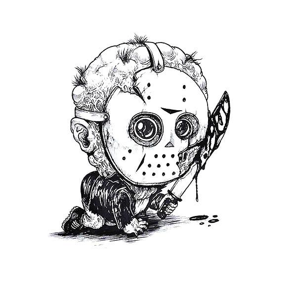 Baby Jason Tattoo Design