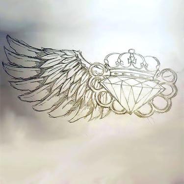 Badass Diamond Tattoo