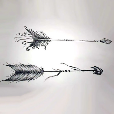 Best Arrow Tattoo Sketch Tattoo