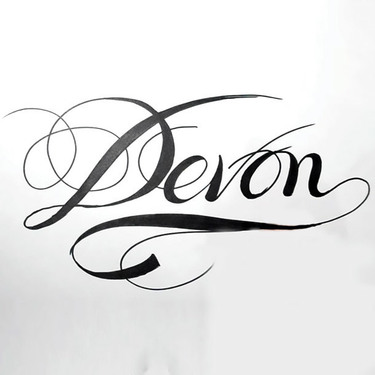 Devon Name Tattoo
