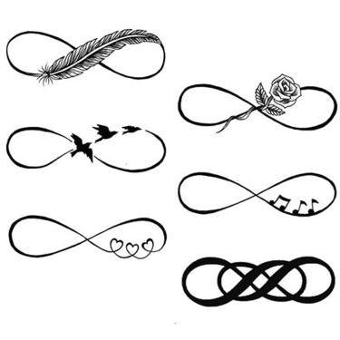 Different Infinity Tattoo Sketches Tattoo