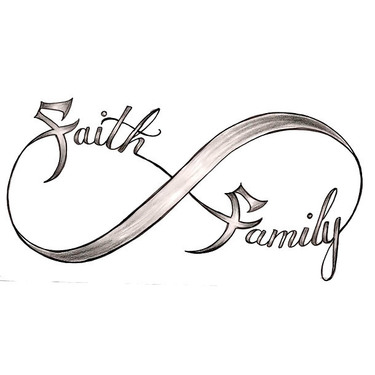 Faith Family Infinity Tattoo