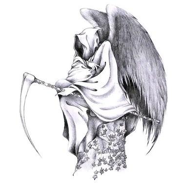 Free Angel Tattoo