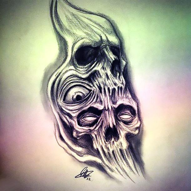 Horror Tattoo Drawing Tattoo Design