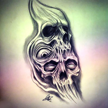 Horror Tattoo Drawing Tattoo