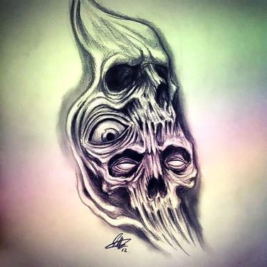 Horror Tattoo Drawing Tattoo