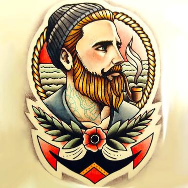 Nautical Sailor Tattoo