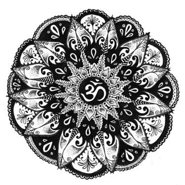 Om Circle Tattoo