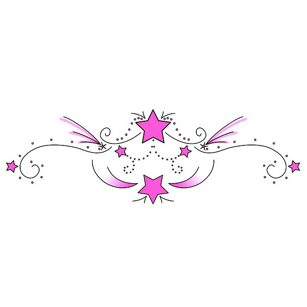 Pink Lower Back Tattoo Art Tattoo Design