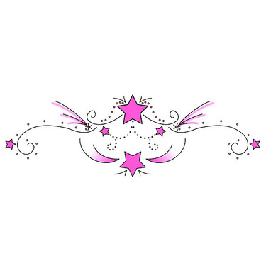 Pink Lower Back Tattoo Art Tattoo