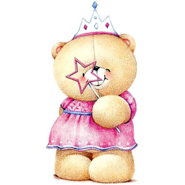Princess Teddy Bear Tattoo