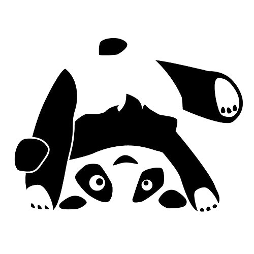 Upside Down Panda Bear Tattoo Design