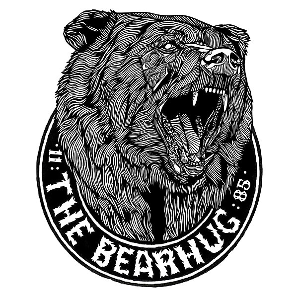 Grizzly Head Tattoo Design