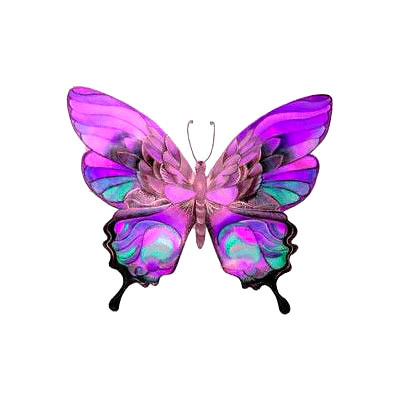 Pretty Butterfly Tattoo Design