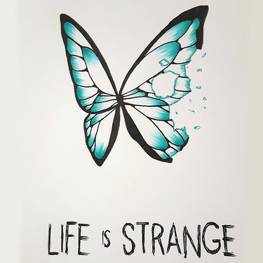 Small Butterfly Life Is Strange Tattoo